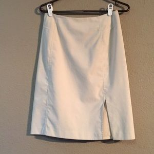 Tan The Limited Stretch Size 4 Midi Skirt
